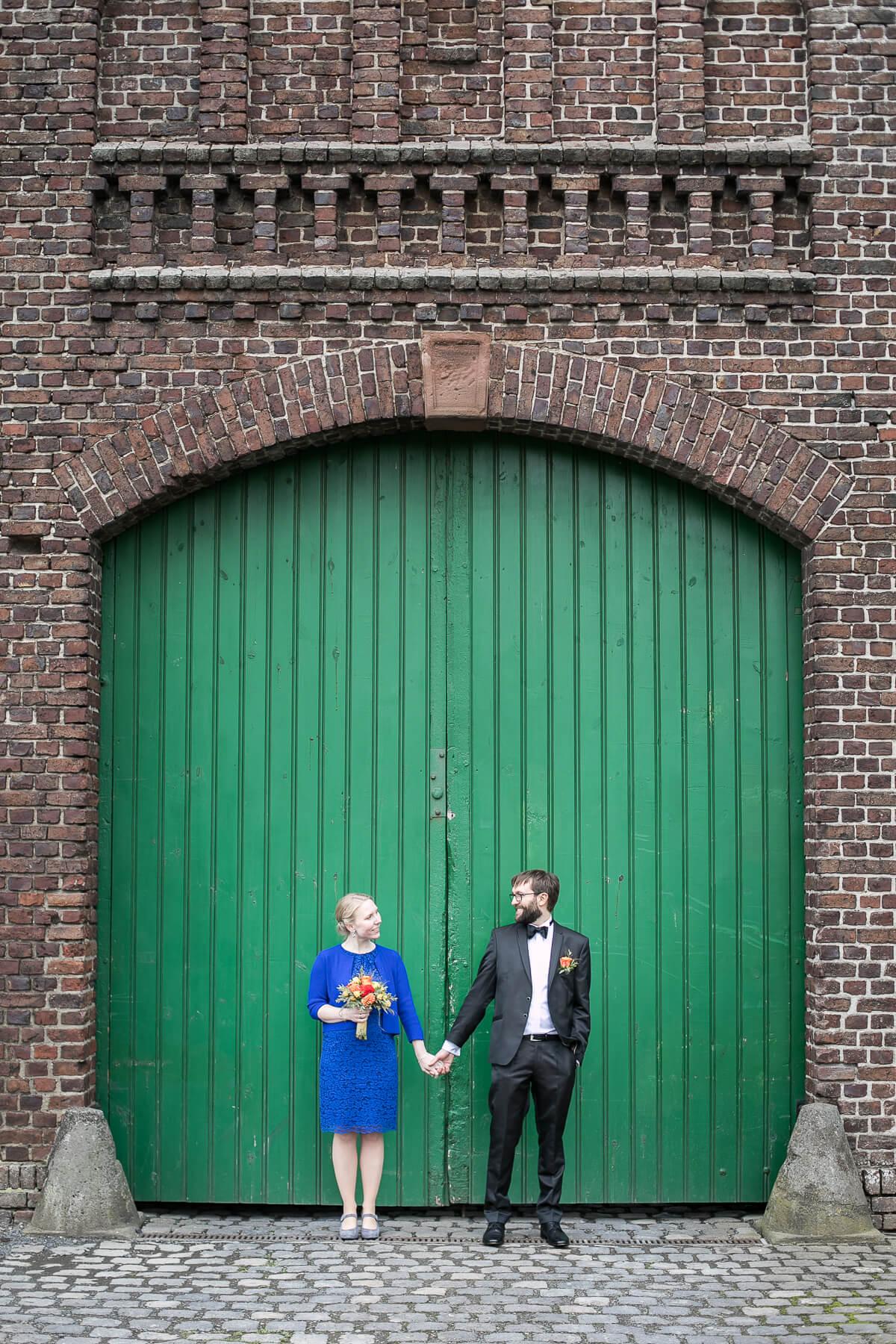 Hochzeitsreportage  Burghof Kommern 03